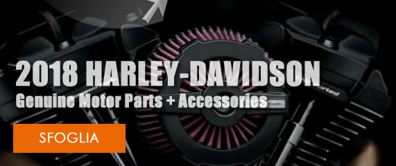 2018 Harley-Davidson® Genuine Motor Parts + Accessories